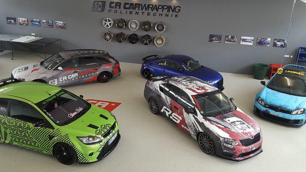Werkstatt cr carwrapping