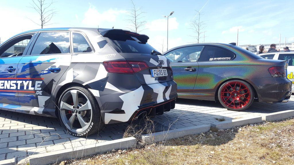 Reifenstyle.de Folierung Audi RS3