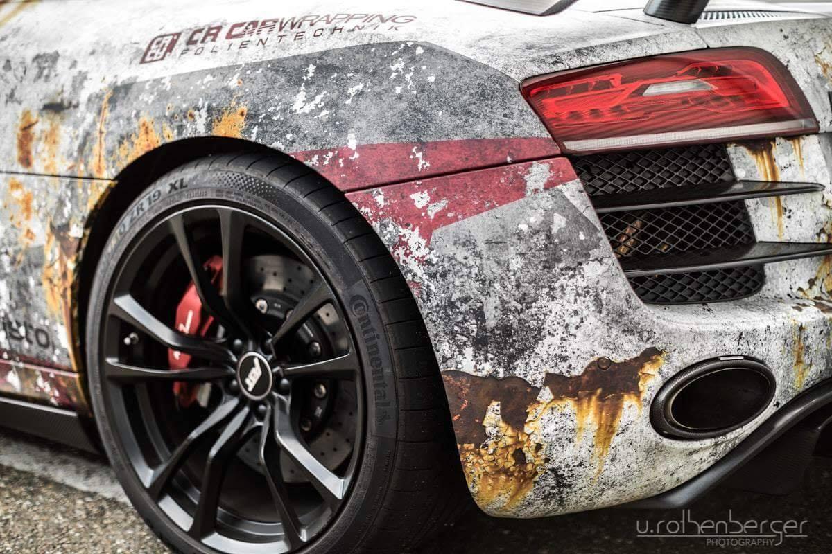 Audi R8 Design folierung