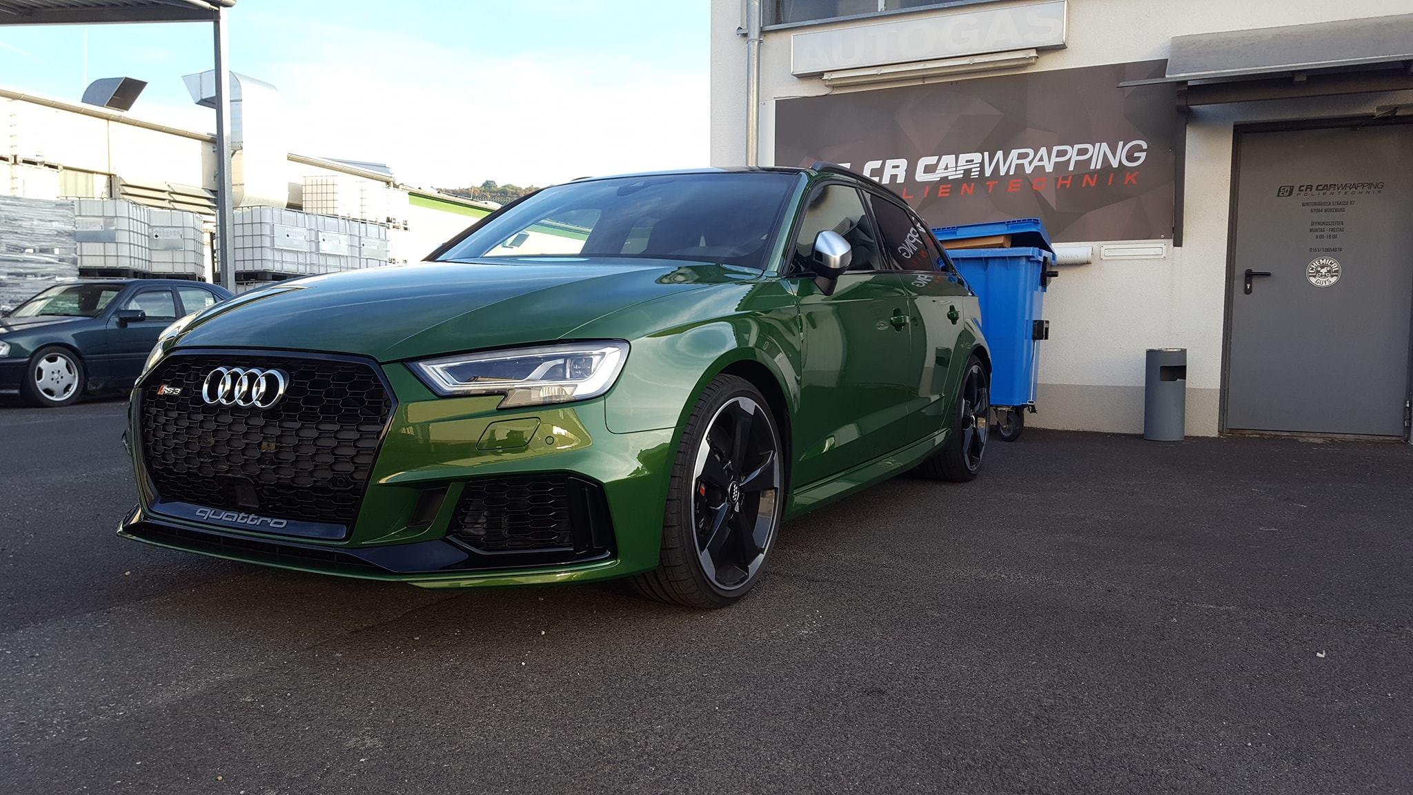 Audi RS3 XPEL Lackschutzfolie