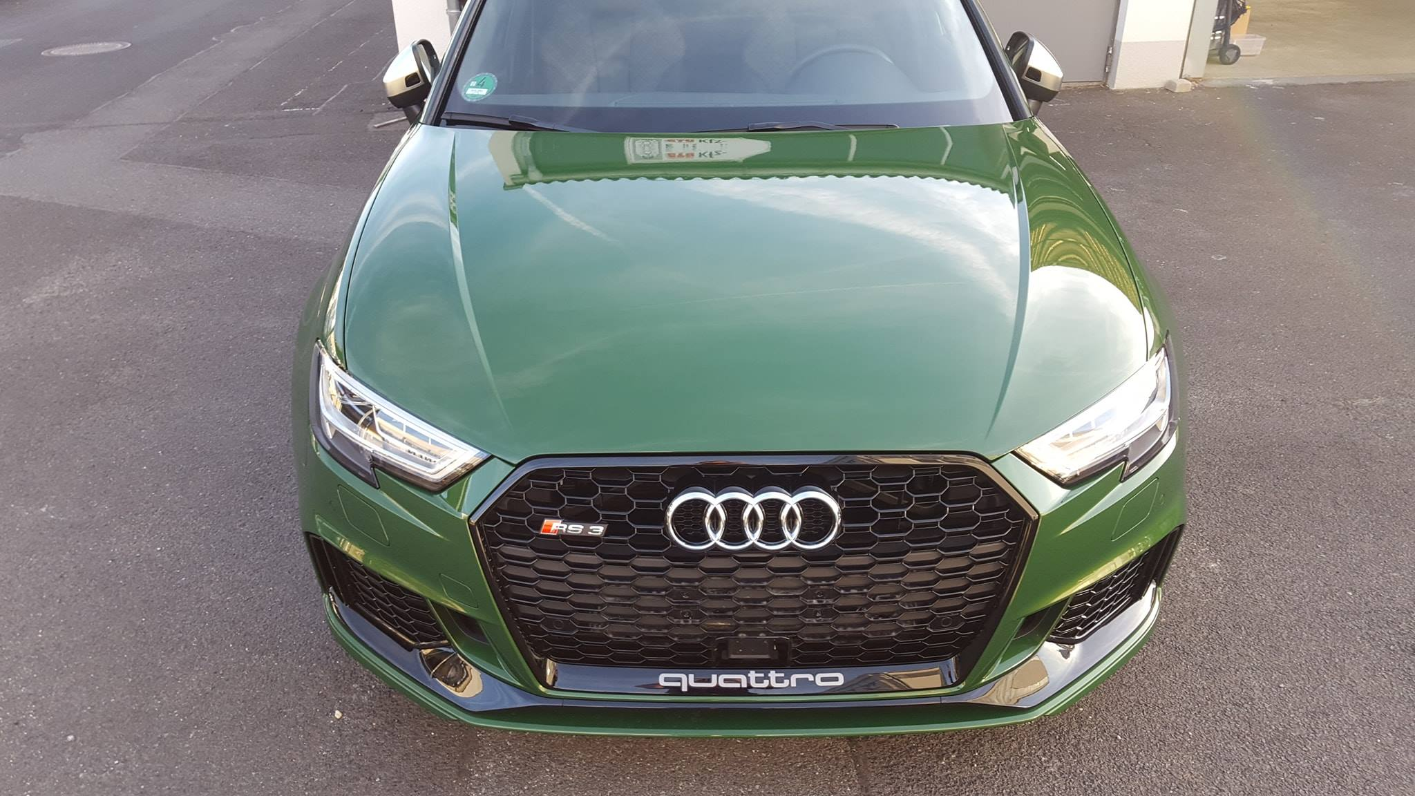 folierung würzburg Audi RS3 XPEL Lackschutzfolie