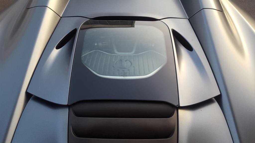 folierung würzburg McLaren MP4 Komplettfolierung in Satin Grau metallic