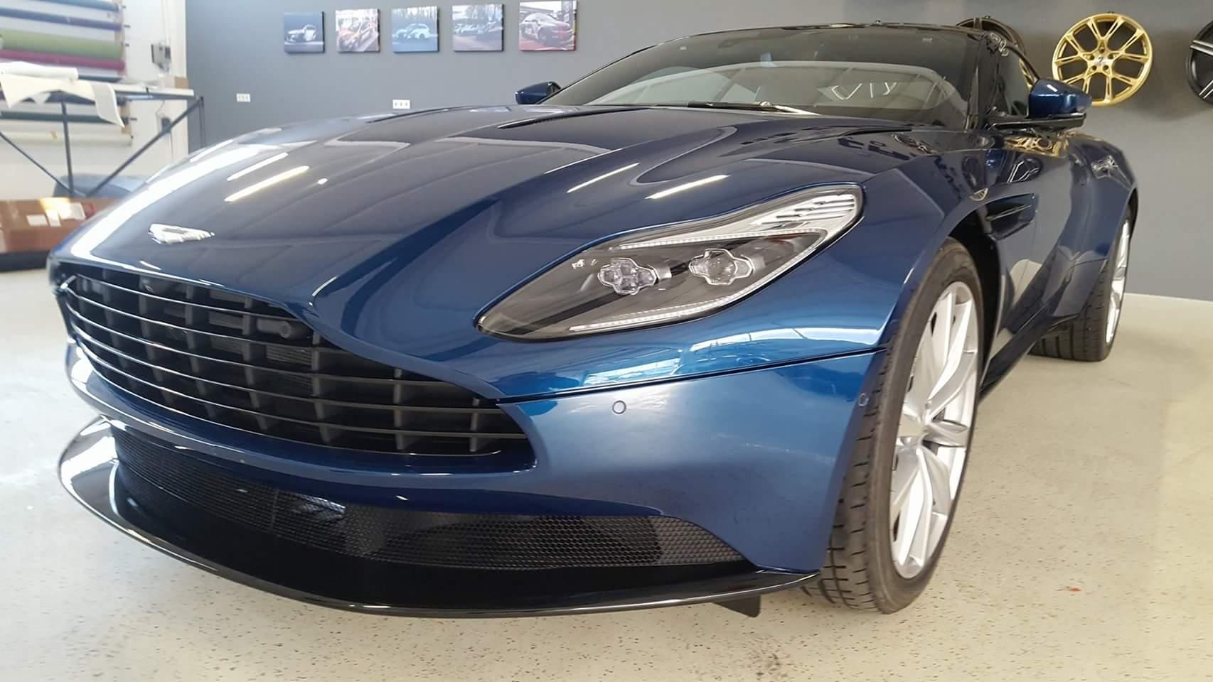 Aston Martin XPEL Lackschutzfolie