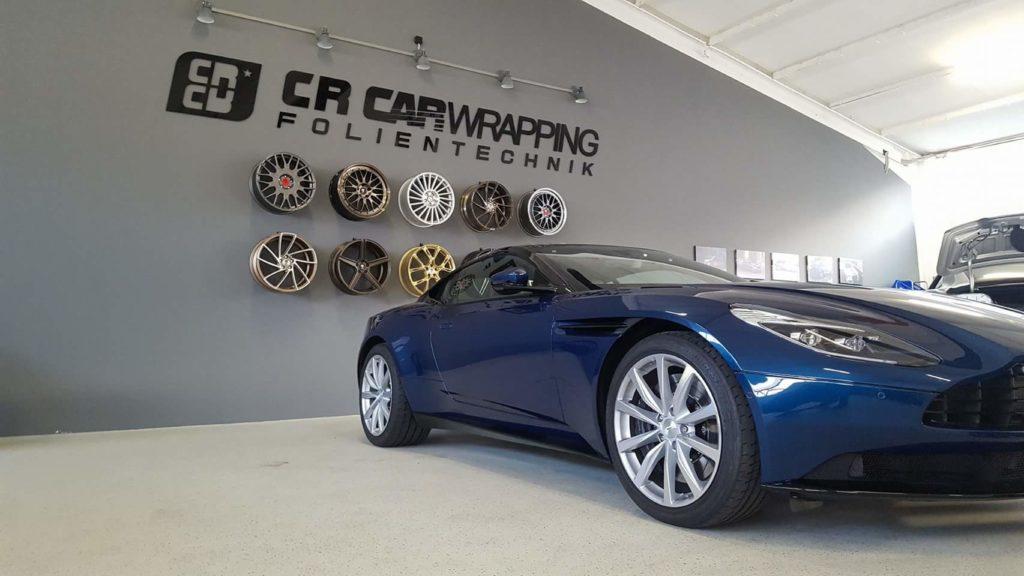 folierung würzburg Aston Martin XPEL Lackschutzfolie