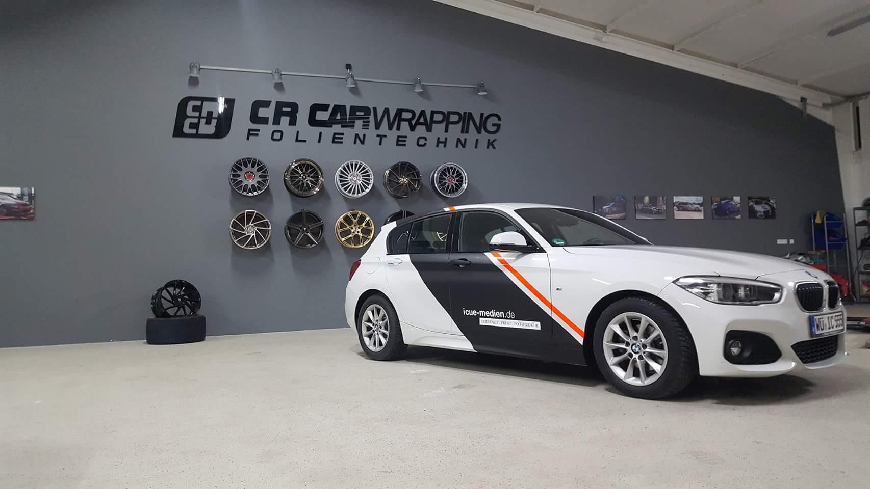BMW 1er Werbebeschriftung