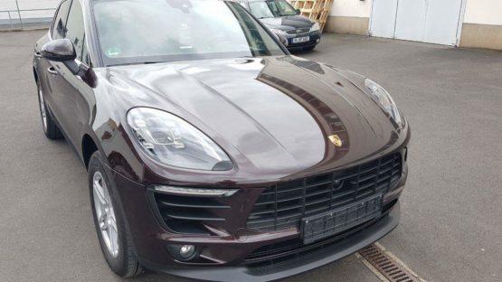 Porsche Macan XPEL Lackschutzfolie folierung würzburg