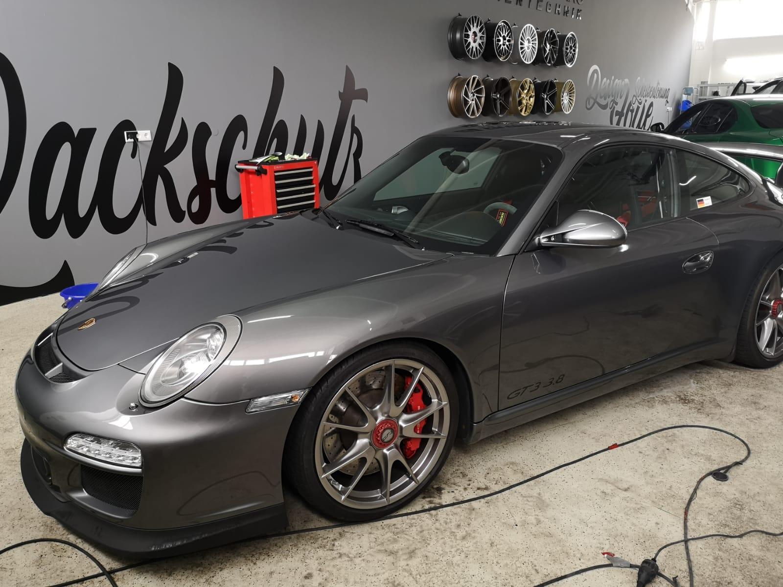 Porsche GT3 3.8 Lackschutzfolierung