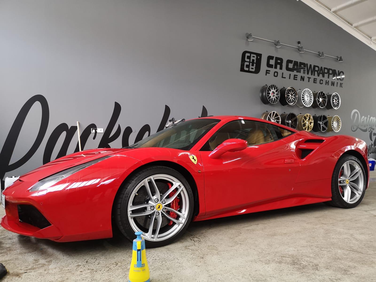 Ferrari Lackschutzfolierung Würzburg