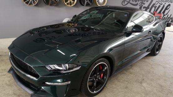 Ford Mustang Bullit Lackschutzfolierung