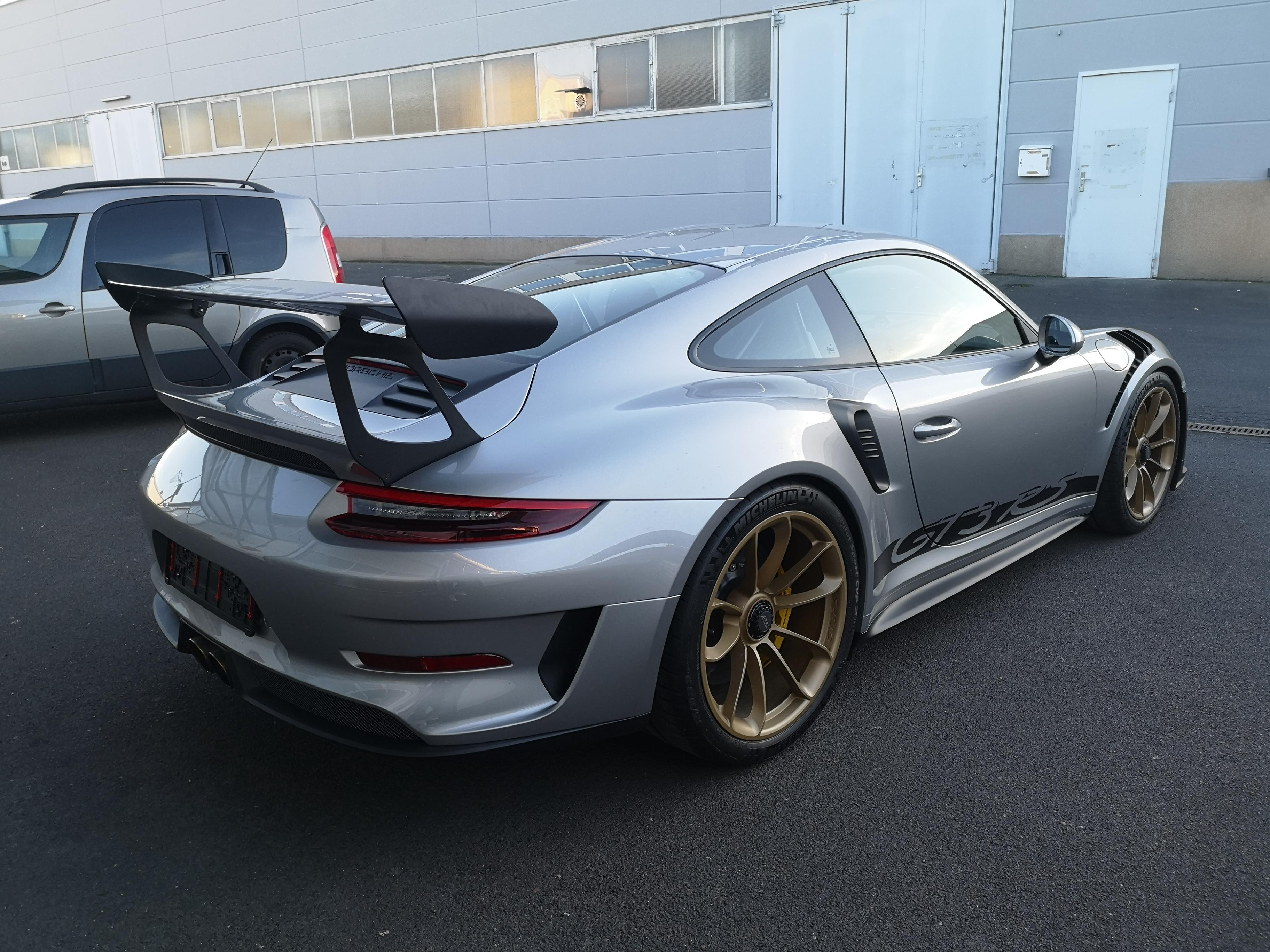 Porsche GT3 RS XPEL Lackschutz Komplettfolierung