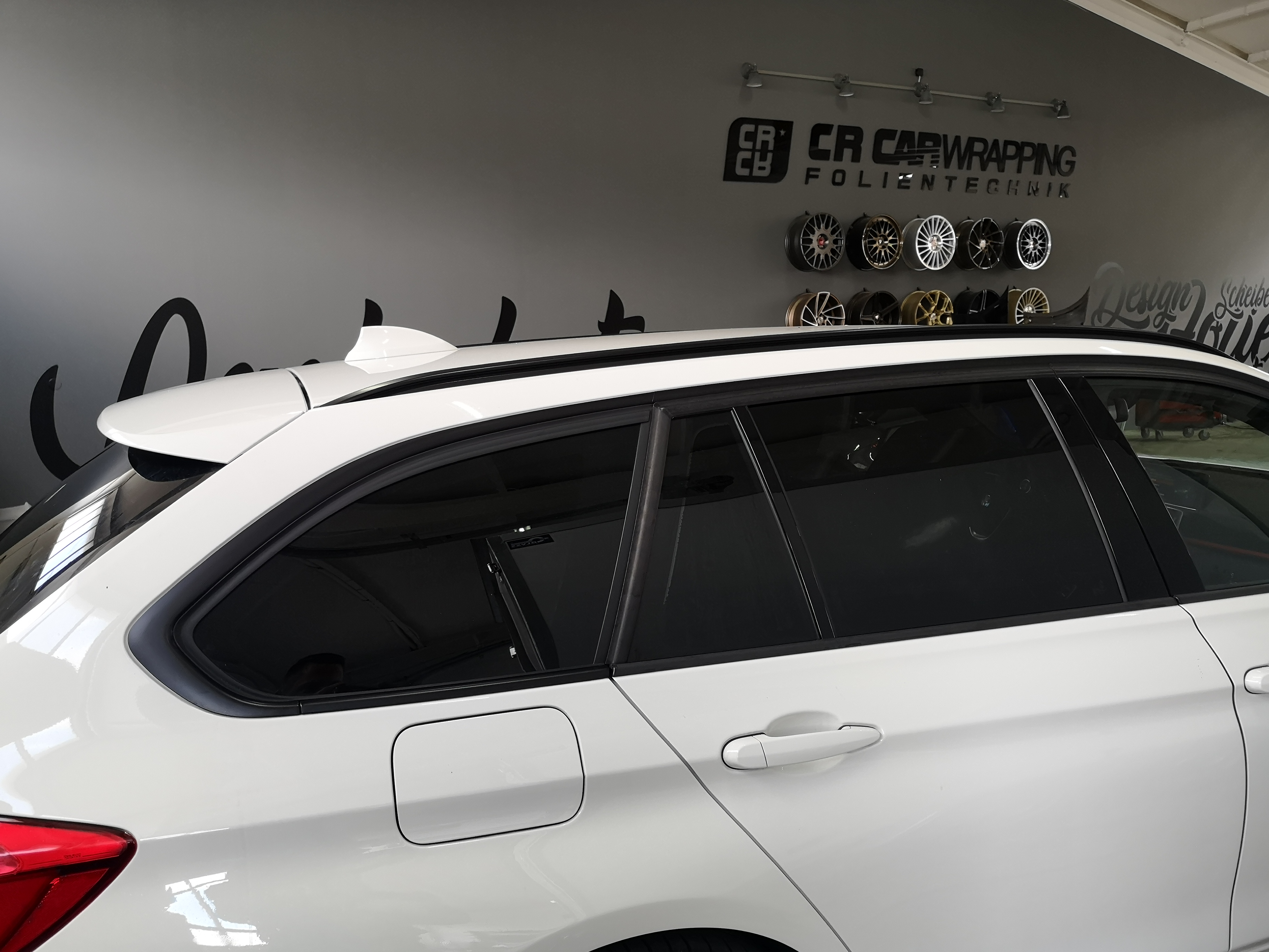 BMW 5er Touring - Scheibentönung