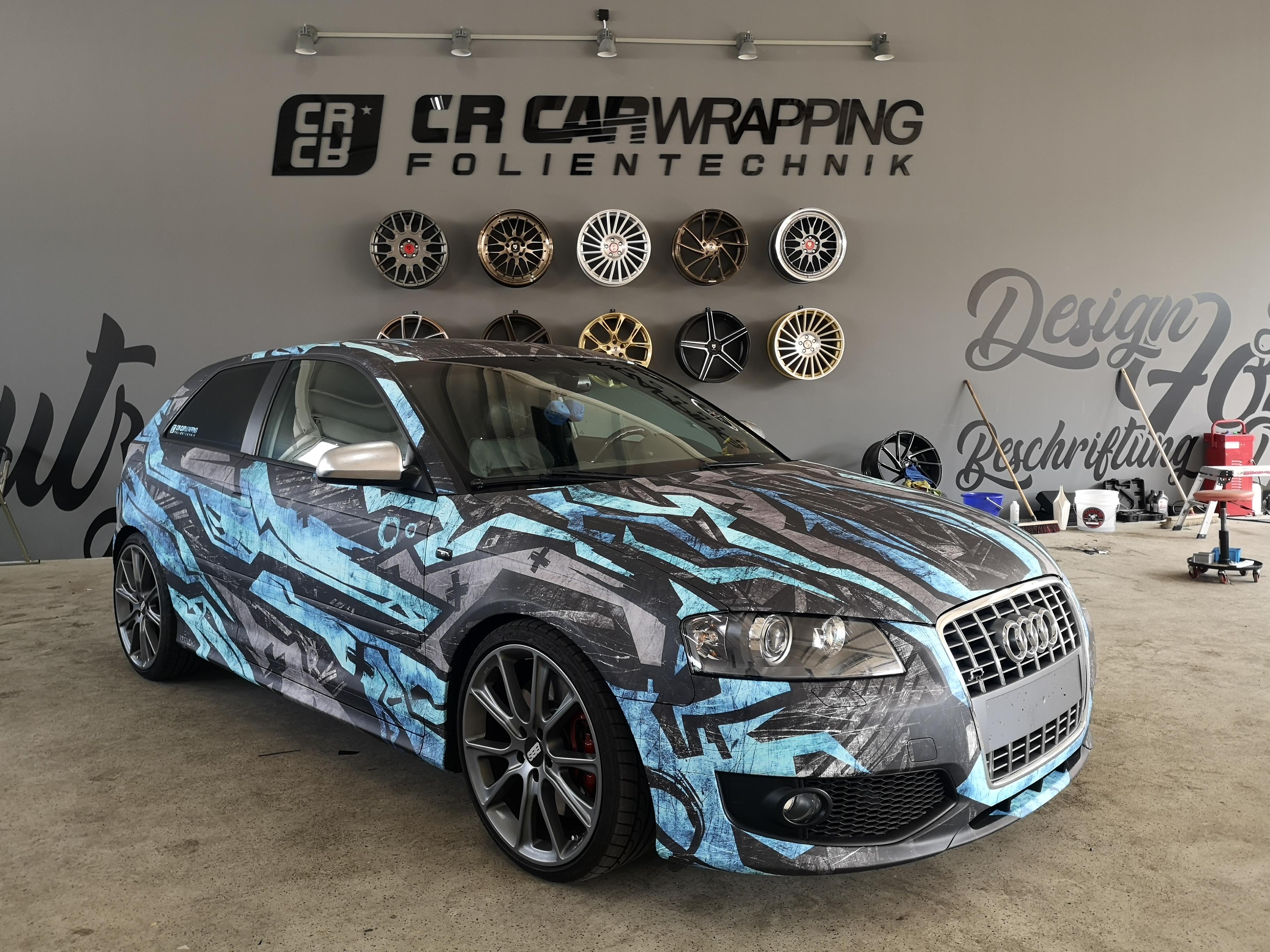 Audi A3 Komplettfolierung