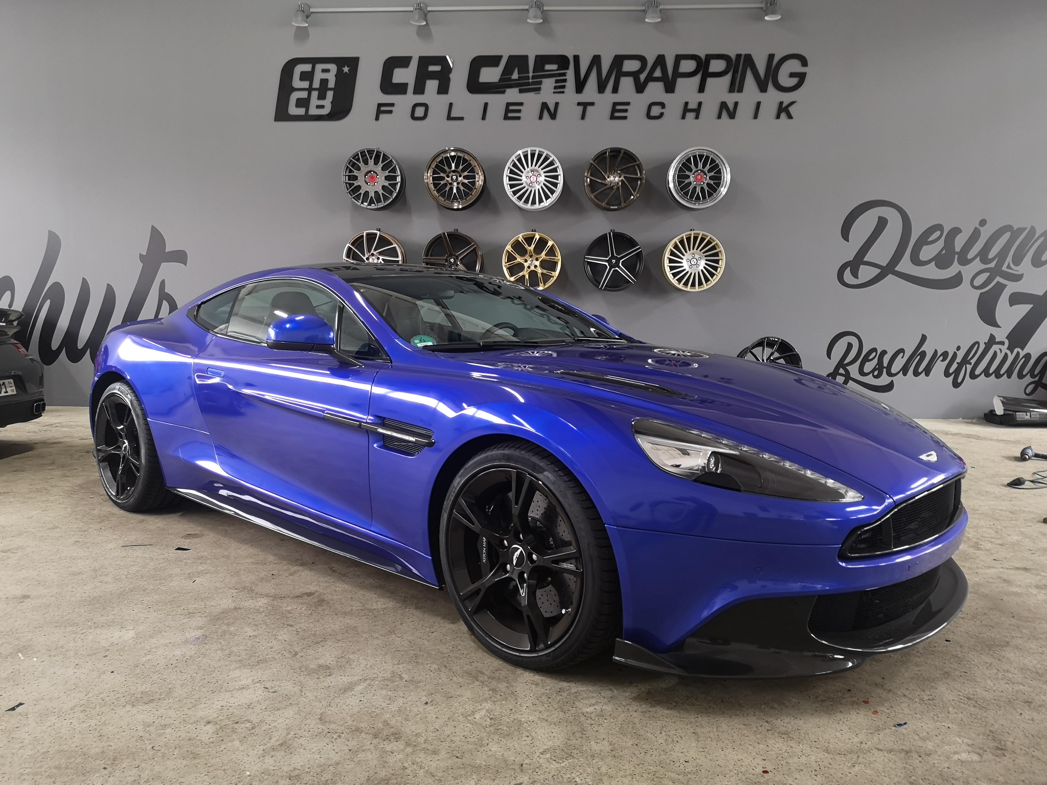 Aston Martin Vanquish S XPEL Lackschutzfolierung