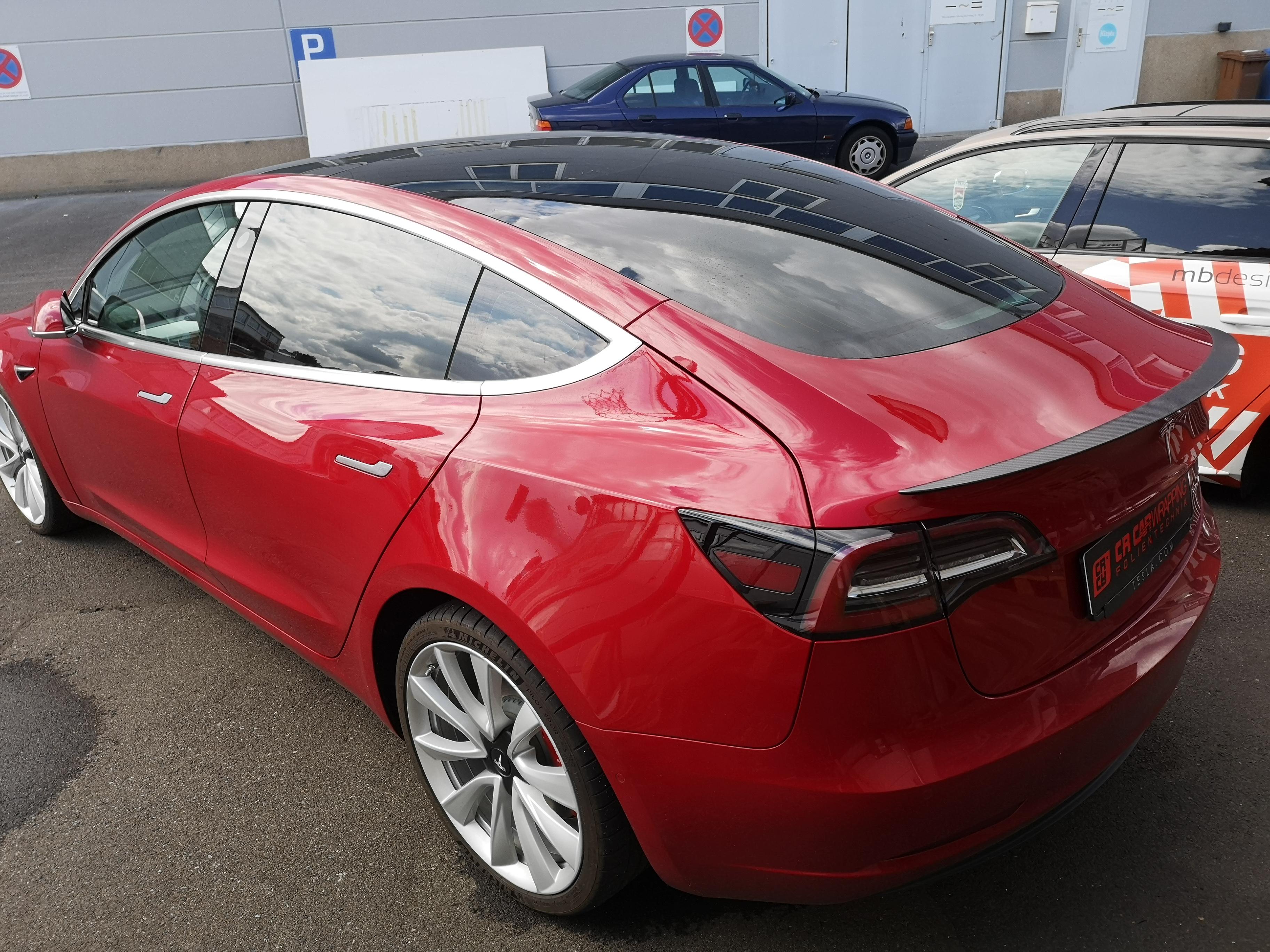Tesla Model 3 Scheibentönung