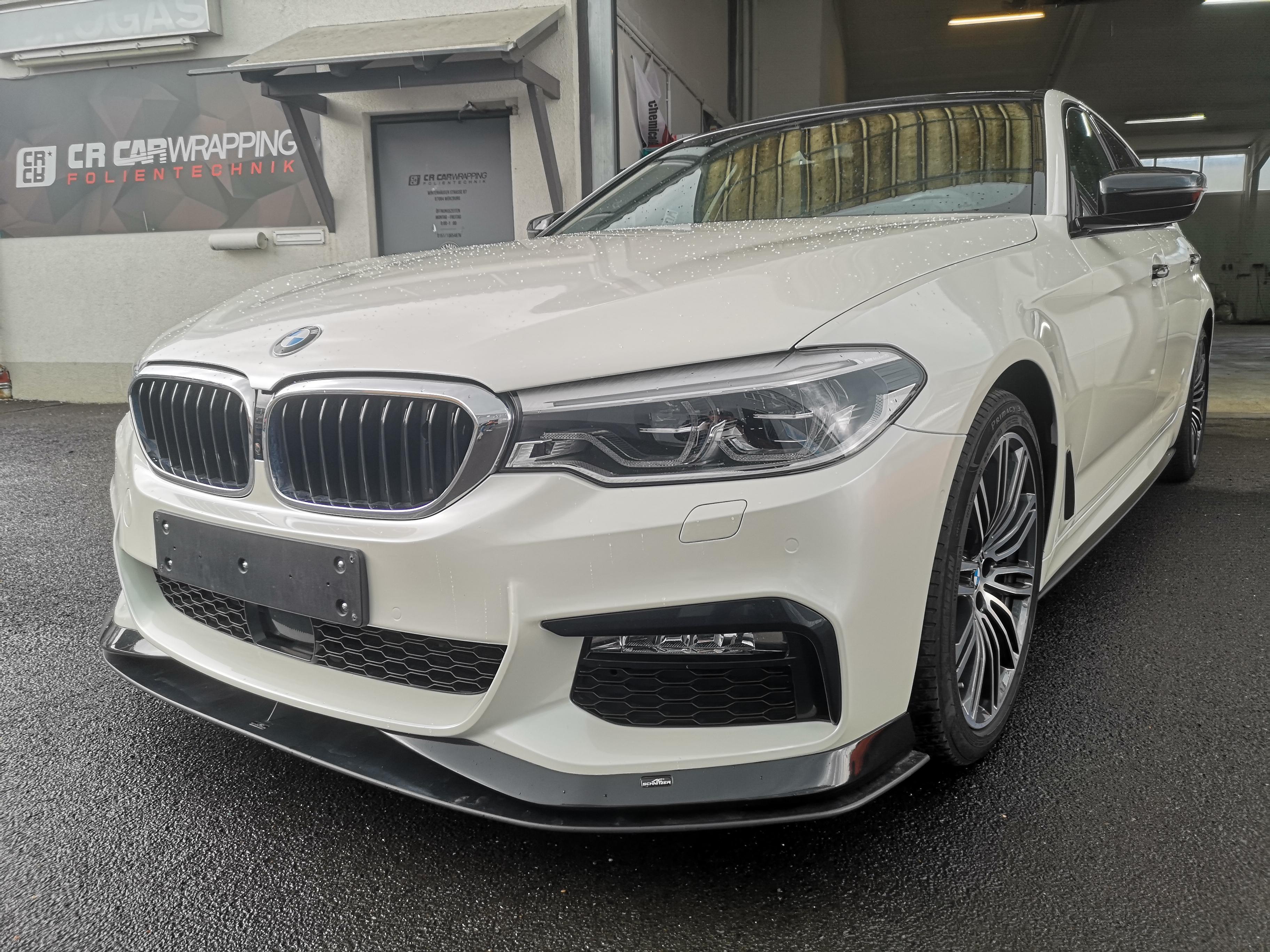 BMW 5er Perl White