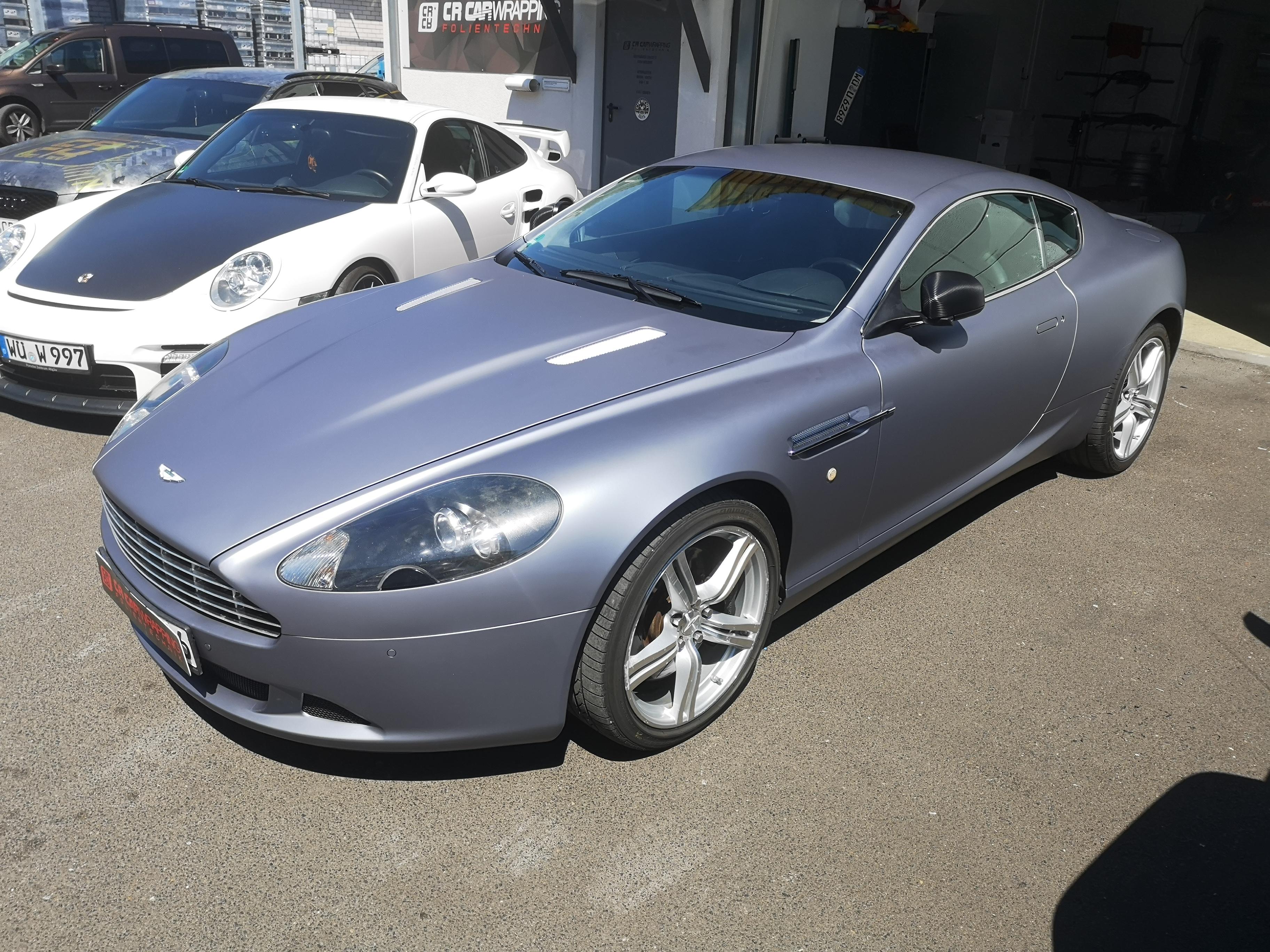 Aston Martin Folierung Würzburg