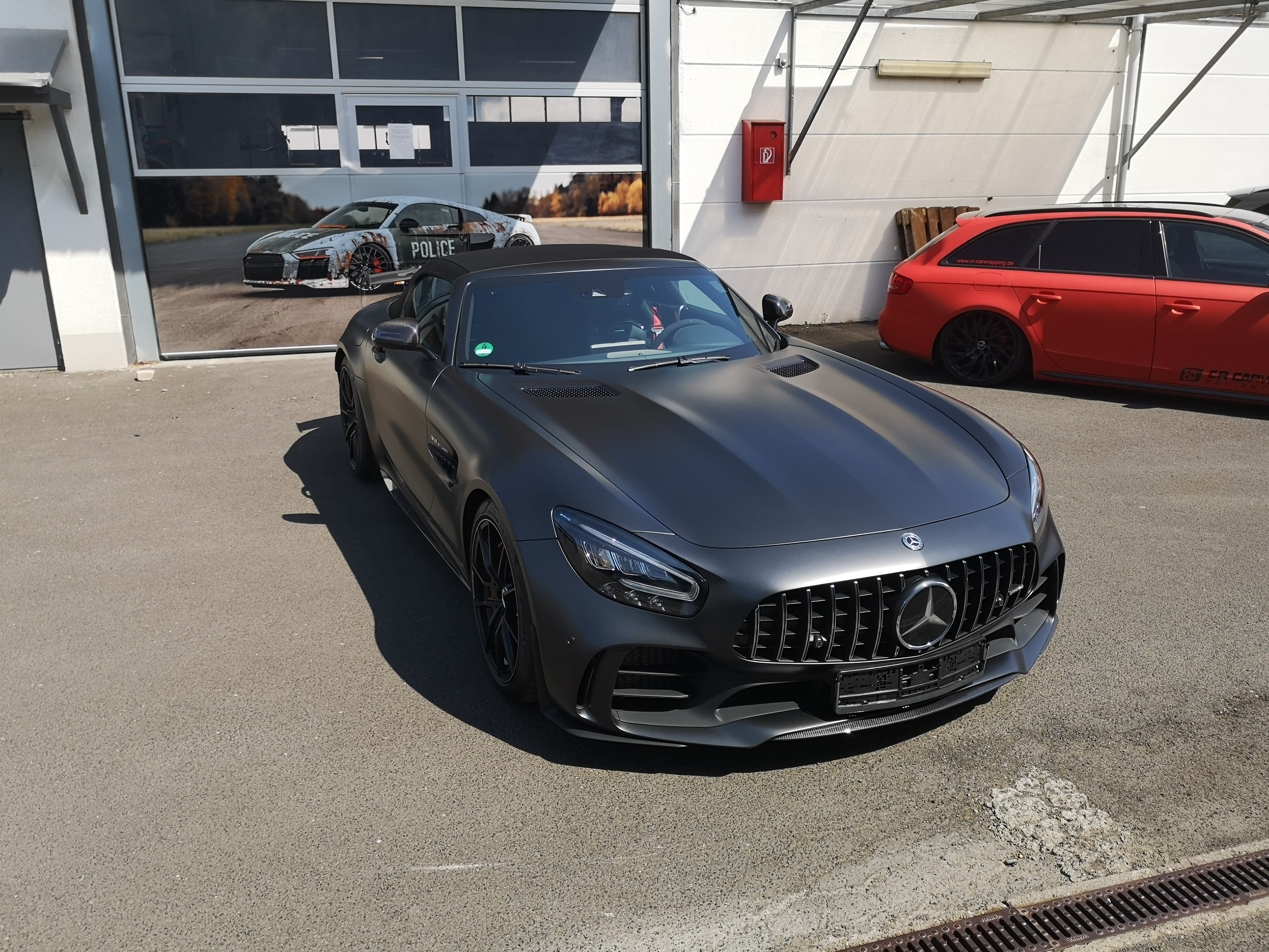 AMG GTR Roadster XPEL Stealth