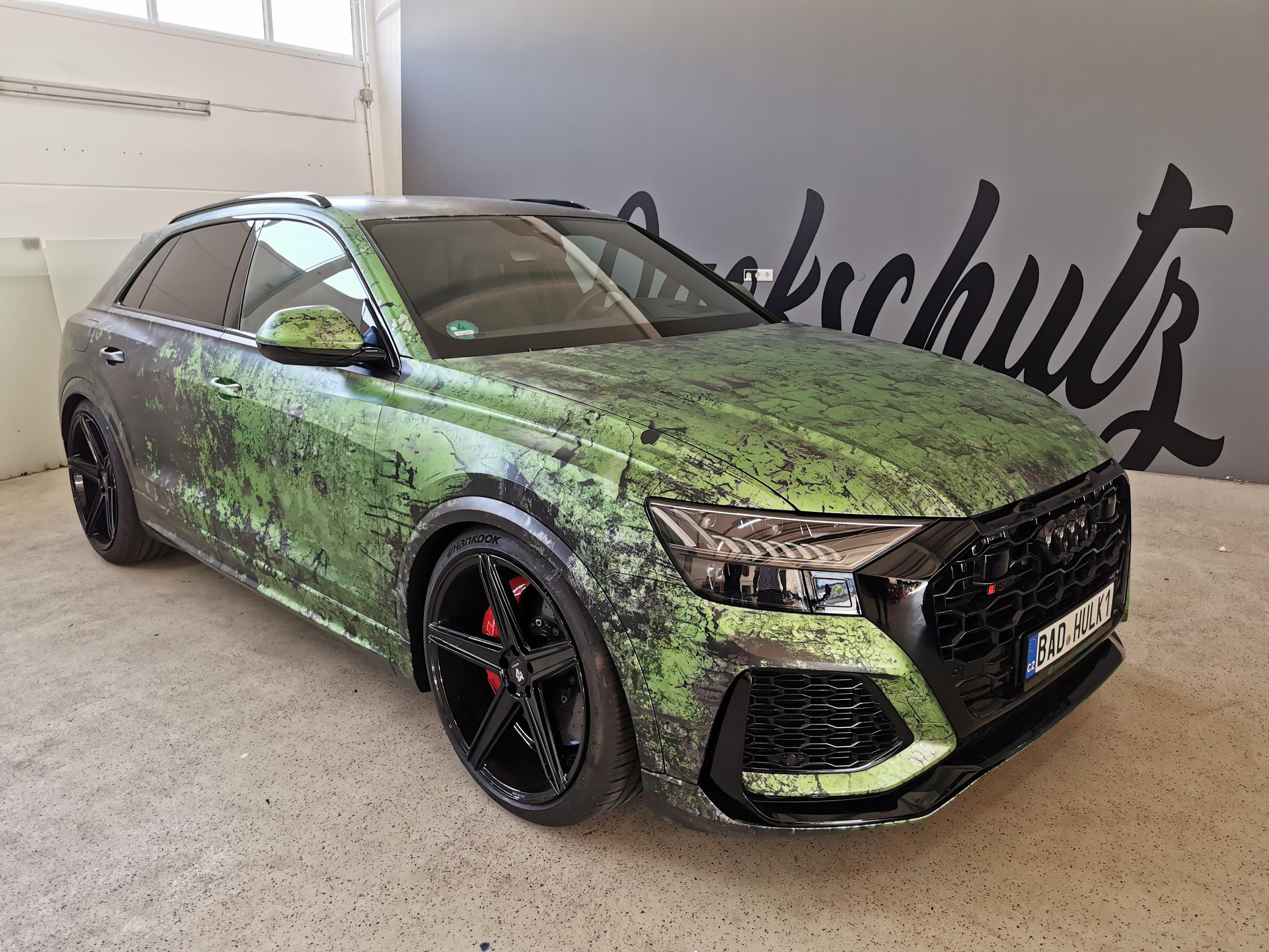 Audi RSQ8 Bad Hulk Digitaldruck