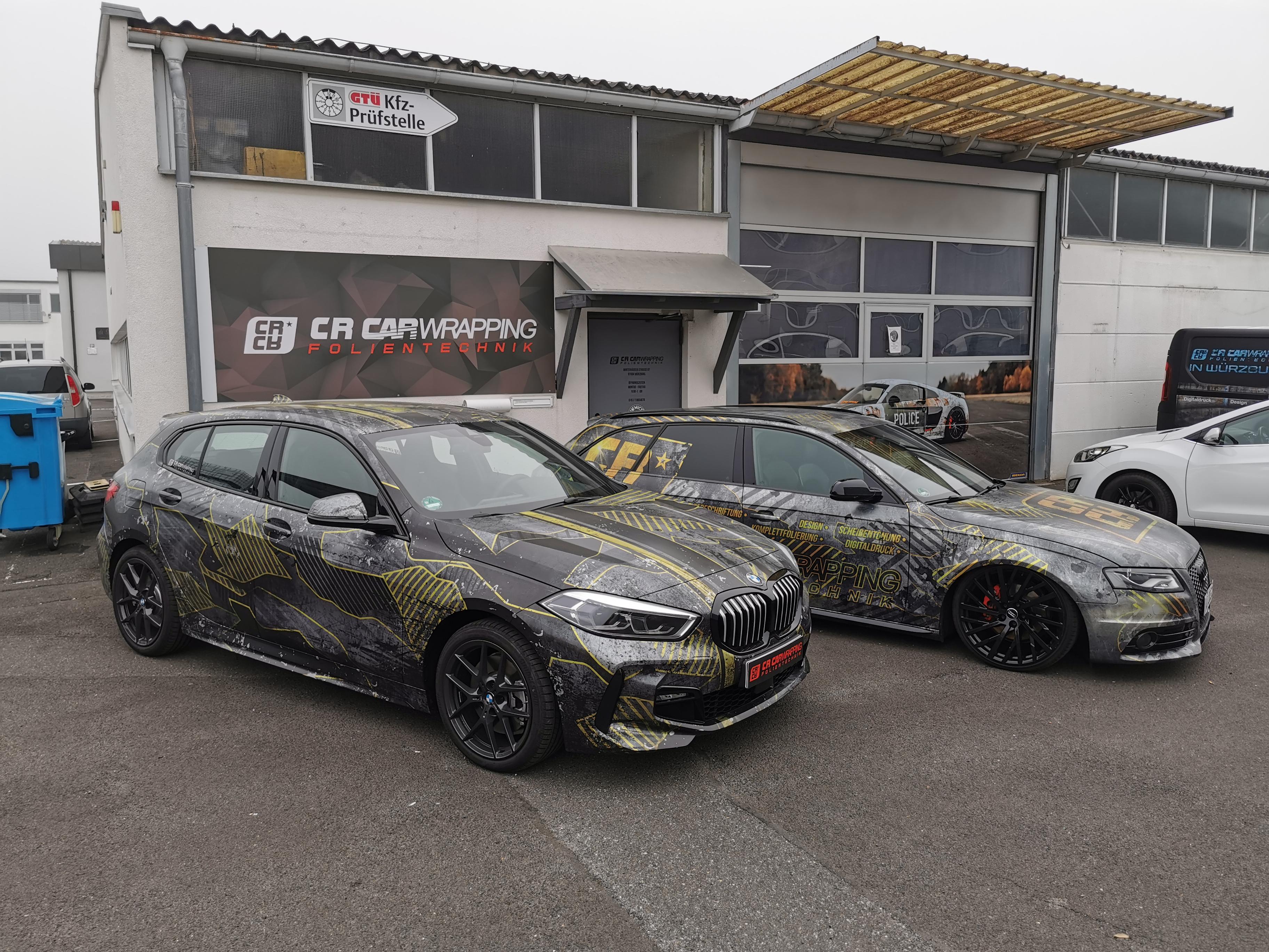 BMW 1er Digitaldruck