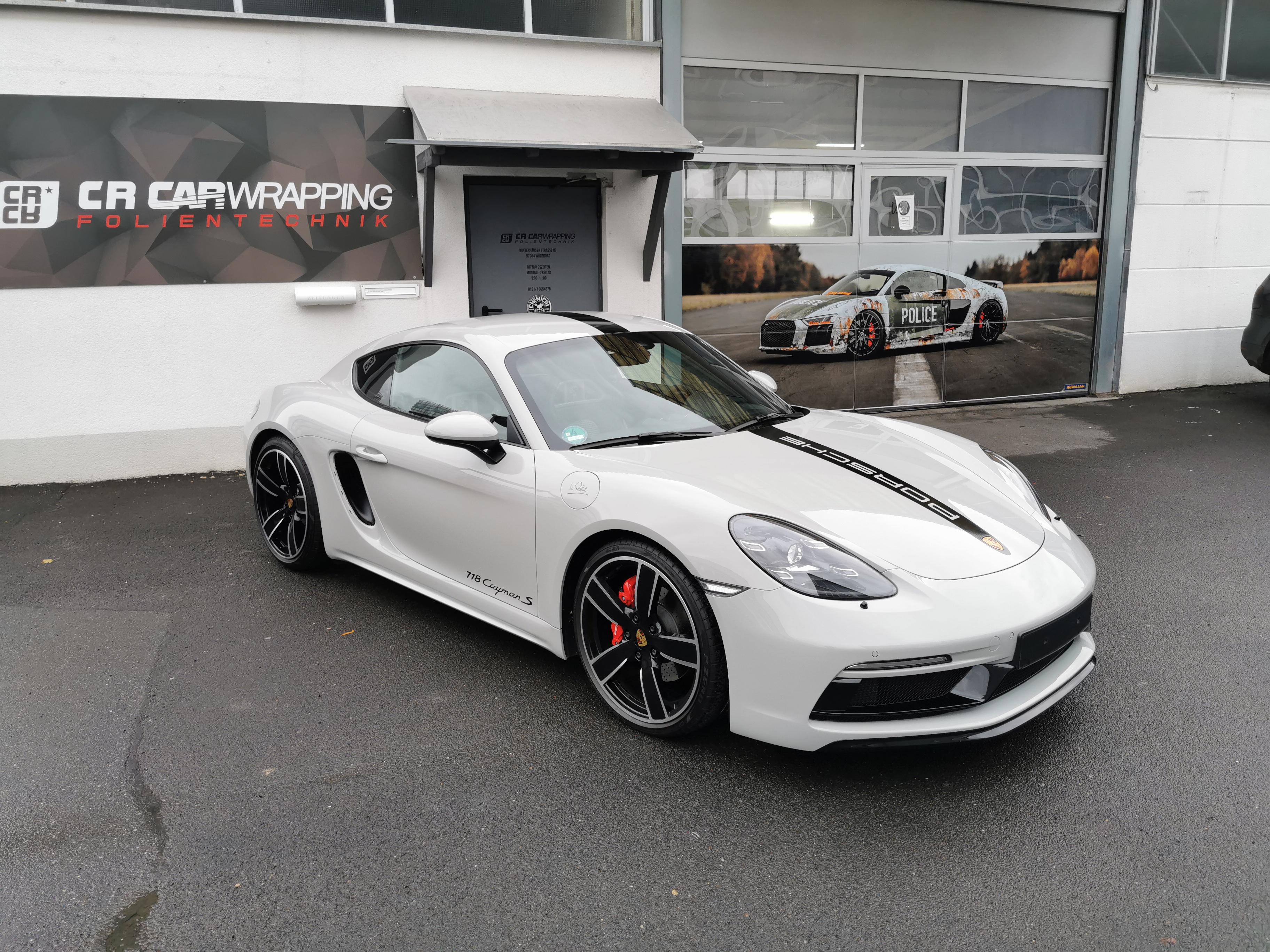 Porsche Cayman S XPEL