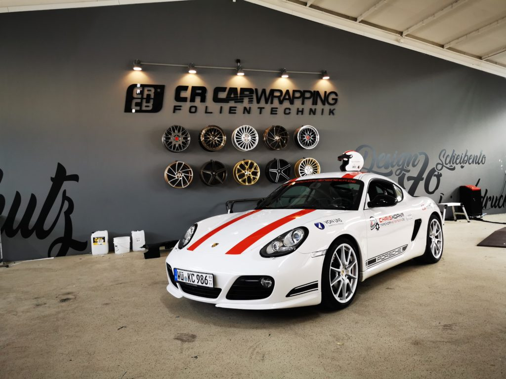 Porsche Cayman XPEL