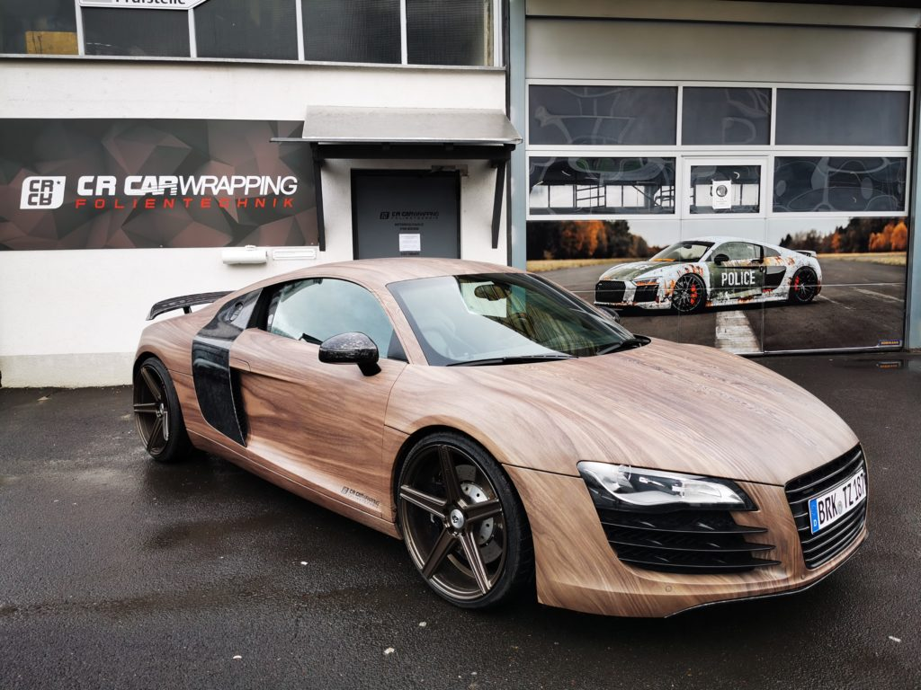 Audi R8 Woody Digitaldruck